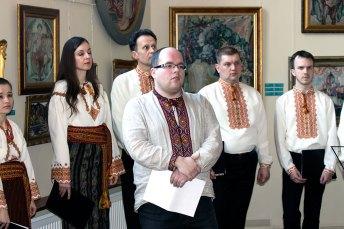 Молодший науковий співробітник Художньо-меморіального музею Олекси Новаківського Олександр Шейко