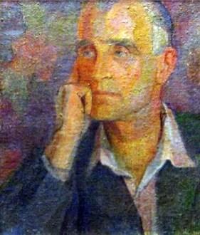 Марґіт Сельська. Портрет Романа Турина, 1942 р. (зі сайту http://vladroenko.blogspot.com)