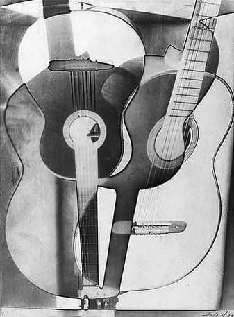 Моріс Табар. Композиція з гітарами, 1932 р. (зі сайту http://www.photographer.ru/cult/theory/5591.htm)