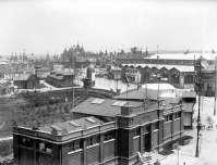 Загальний вигляд Крайової виставки на місці Стрийського парку. Фото 1894 року