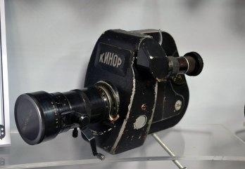 Старі раритетні камери в музеї телебачення (фото Тетяна Жернова, 2016р)