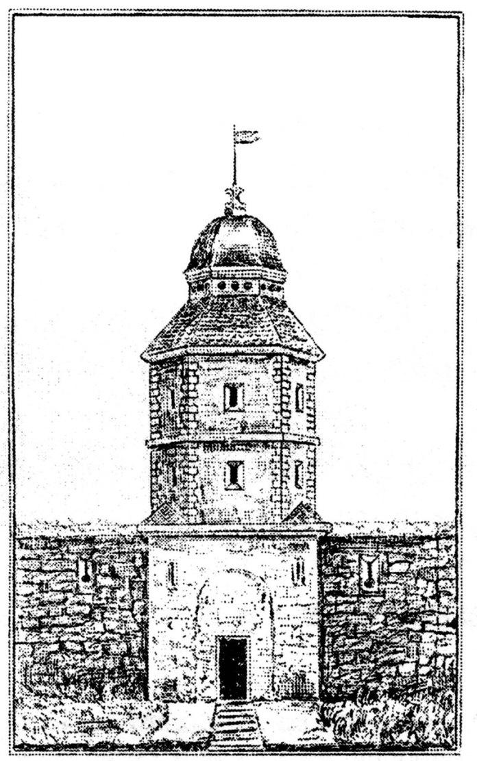 Єзуїтська хвіртка в XVII ст( джерело фото http://vydavnytstvo.plastscouting.org/vor/arkhiv/149/5.html)
