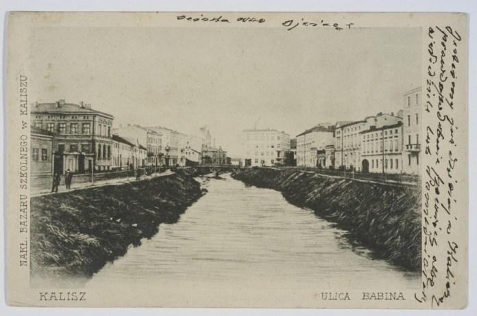 Оригінальне зображення, використане за основу для фейкового зображення Львова. На світлині зображено місто Каліш в Польщі. Фото 1904 року