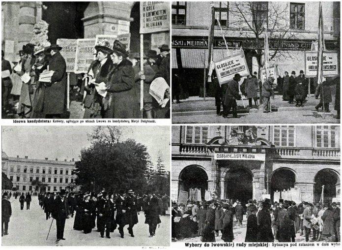 Жінки і вибори у Львові 100 років тому