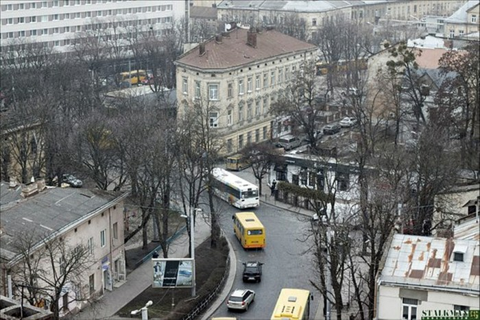 Площа Різні, на якій тривалий час була міська бійня худоби