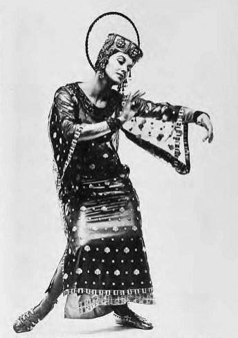 Рома Прийма у танці «Ікона» (Юнак. – 1971. – Ч. 8/9)