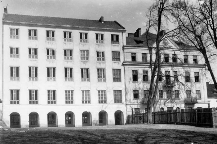 Один з корпусів ювенату (малої семінарії отців-редемптористів) на Збоїськах
