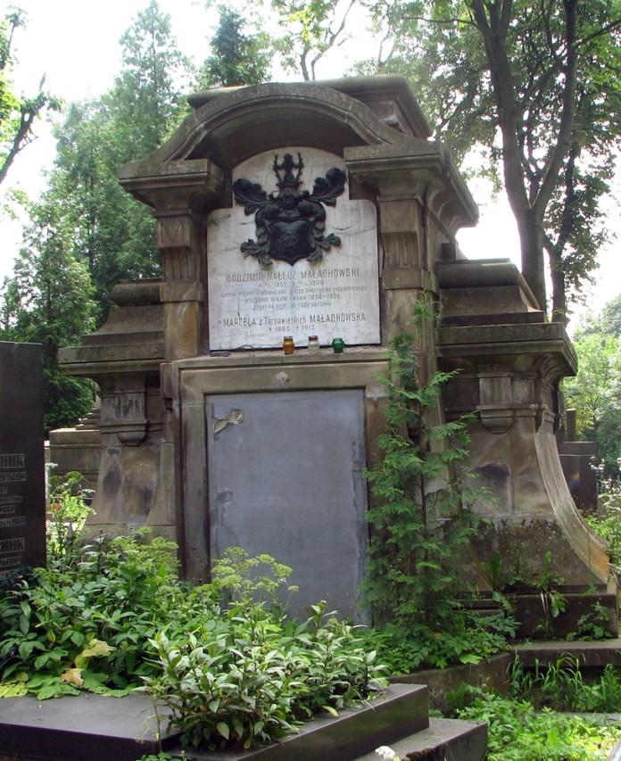 Надгробок Малаховського. Личаківський цвинтар. Фото з io.ua