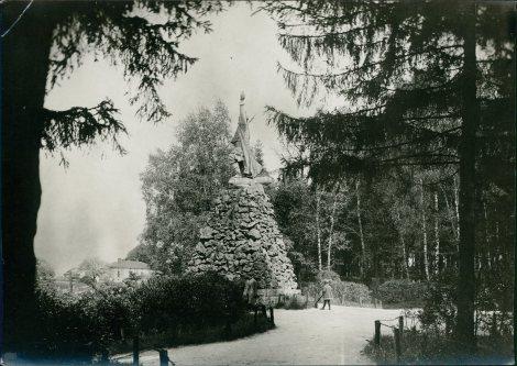 Пам'ятник Войцеху Бартошу Гловацькому на Личаківській. Фото 1925 року