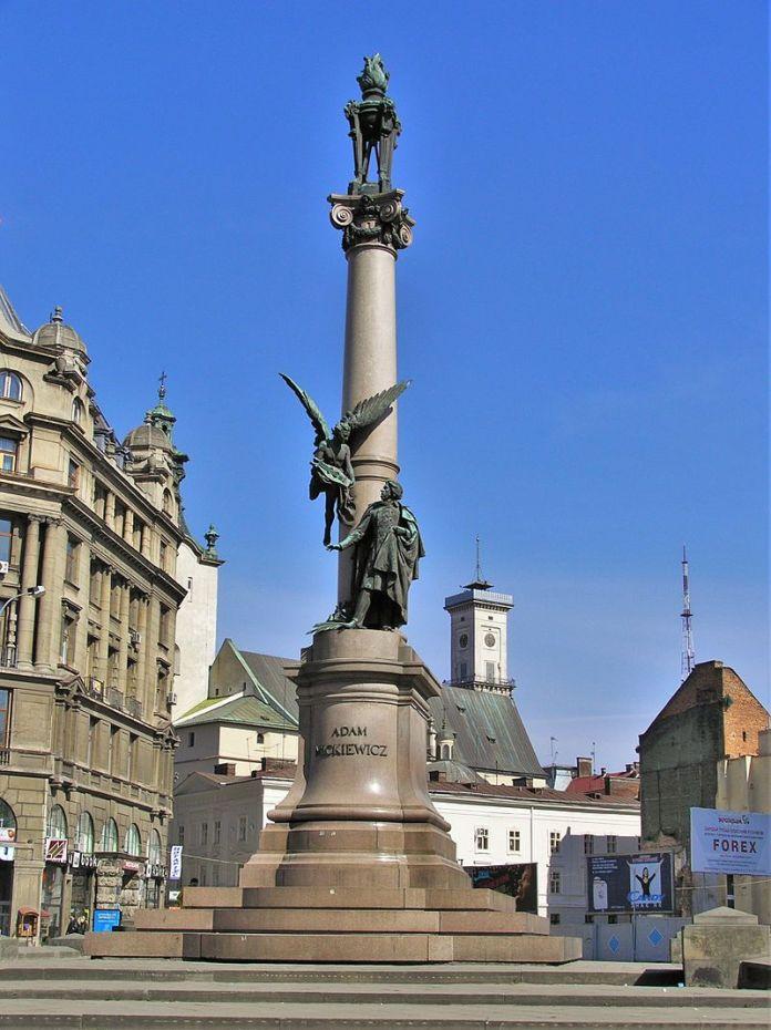 Пам'ятник А.Міцкевичу. Сучасне фото