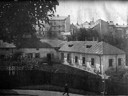 Приміщення «Народної лічниці» у Львові, фото початку ХХ ст. (зі сайту http://photo-lviv.in.ua)