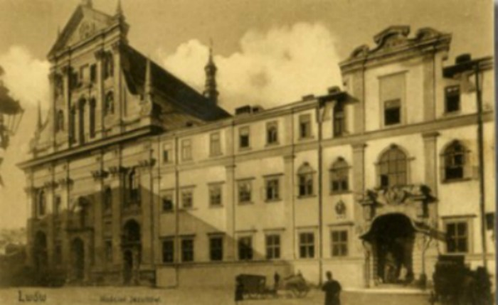 Костел єзуїтів. Фото з poshtivka.com