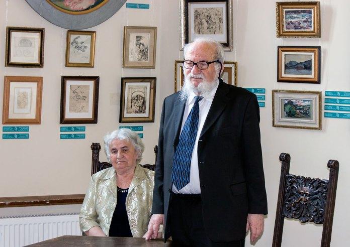 Професор Микола Мушинка з дружиною Магдою