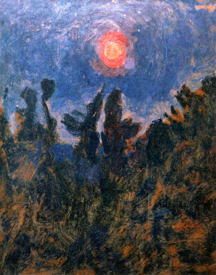"""Олекса Новаківський """"Захід сонця"""", 1920-ті рр."""