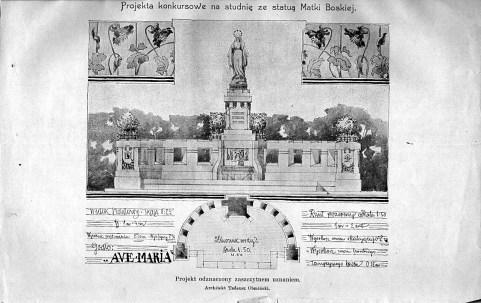 Проект статуї Matki Boskiej (1904)