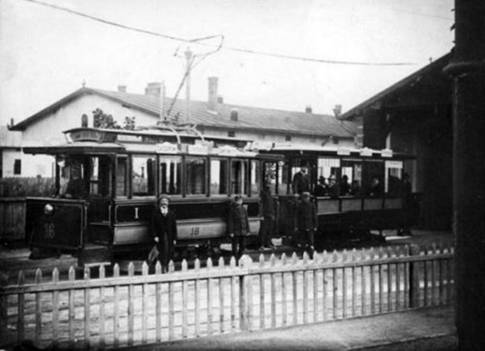 Першими у Львові з'явились трамваї компанії Siemens & Halske