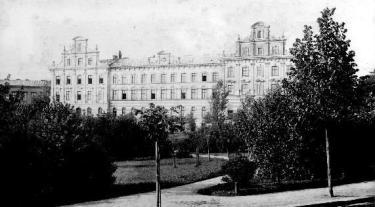 Сквер Святого Юра, створений А.Рерінгом. Фото поч. XX ст.
