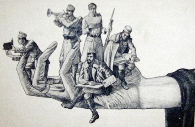 """Ю.Краківський. """"Знак артистичної горстки"""" (1916)"""