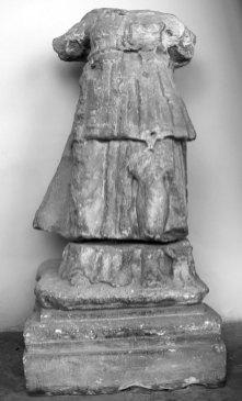 Пренґер. Оригінальна скульптура 1598 року. (Львівський історичний музей)