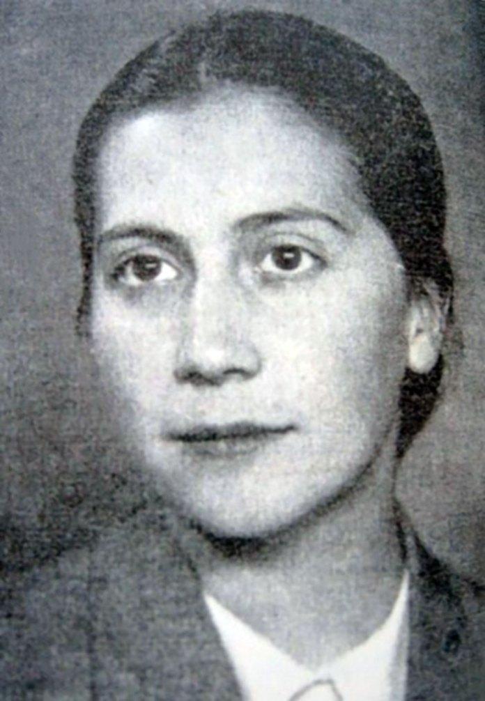 Дарія Коверко, учасниця процесу 59 – ти, засуджена до розстрілу.