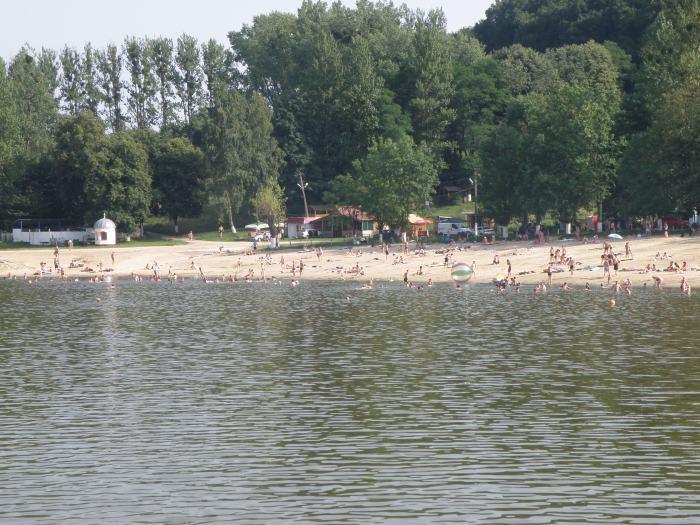 Винниківське озеро. Сучасне фото