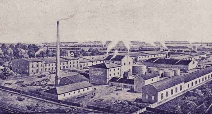 Завод Юліуша Міколяша, фото ХІХ століття