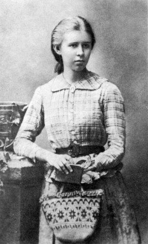Леся Українка, фотографія 1888 р.