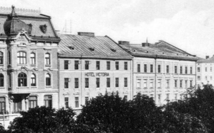 """Готель """"Вікторія"""". Фото пер. пол. 20 ст."""