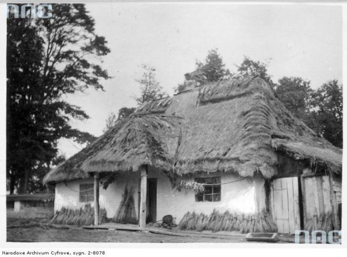 Белз. Стернька хатинкаю Фото 1941 року