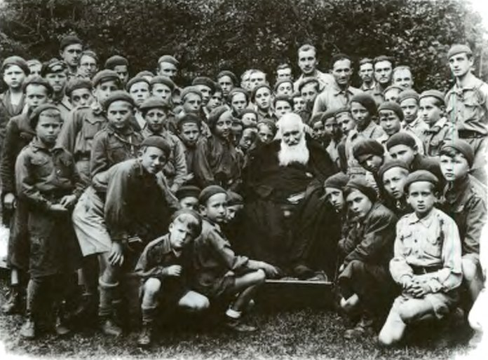 Митрополит Андрей. Підпюте, 1935 р. Фото Ярослава Коваля.