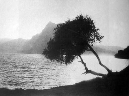 Олександр Пежанський. Над озером, Лугано, Швейцарія, 1933 р. (Ностальгія... : фотоальбом. – Львів, 1992)
