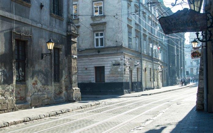 Вулиця Руська сьогодні Фото:Ксенія Янко