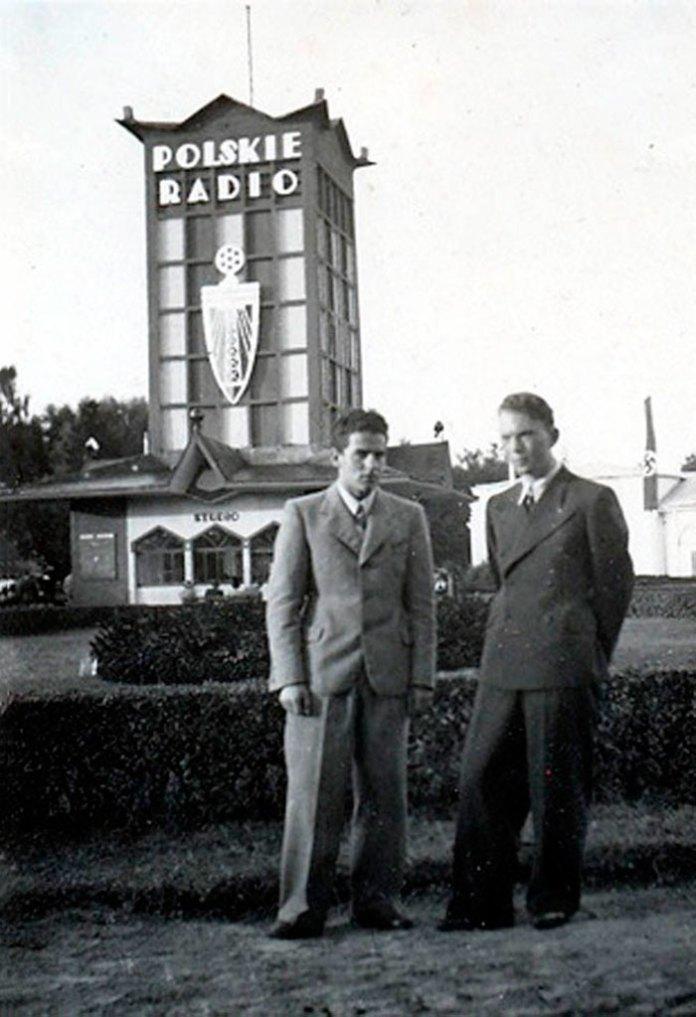 Фото центрального павільйону Східних торгів 1938 році