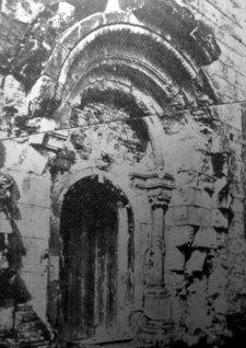 Маріян Ґавдяк. Княжий Галич. Головний портал церкви св. Пантелеймона, сер. 1930-х рр. (Наша Батьківщина. – 1937. – Ч. 3)