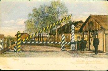 Австро-російський кордон у Бродах, 1905 рік
