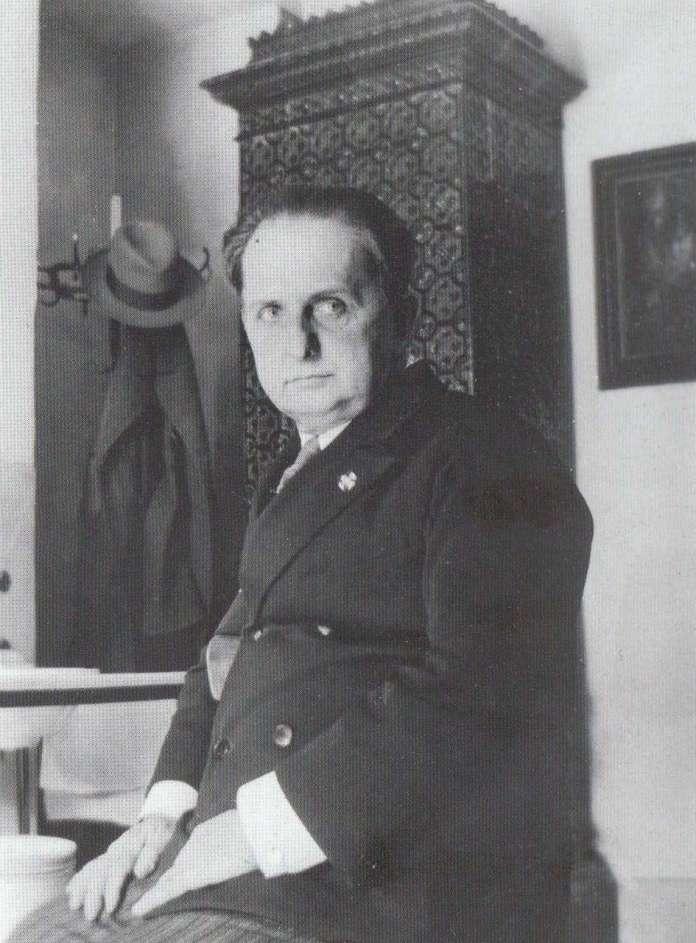 Рудольф Губер, чоловік Зофії Штемеської. Автор невідомий, ймовірно, що фото зроблено Зофією