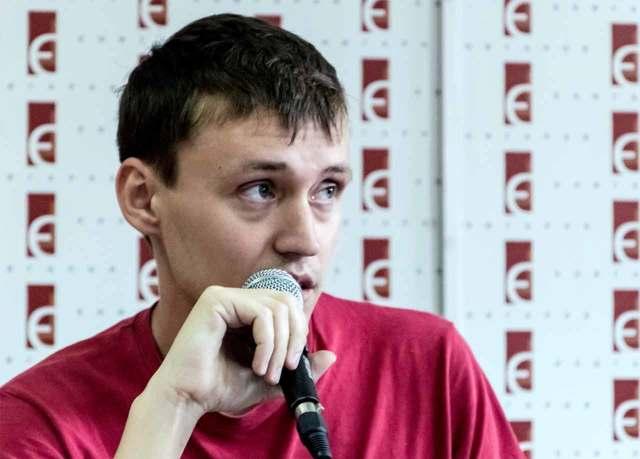 Тимофій Федорець, журналіст-фрілансер, поет. Фото: Ксенія Янко