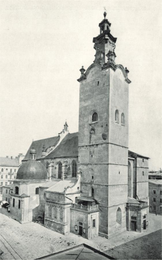 Латинська катедра. Вигляд на початку ХХ століття