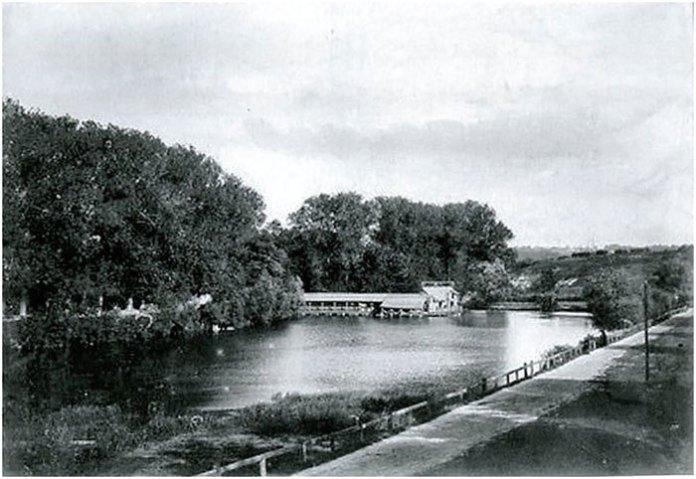 Пелчинський став. Фото близько 1893 р.