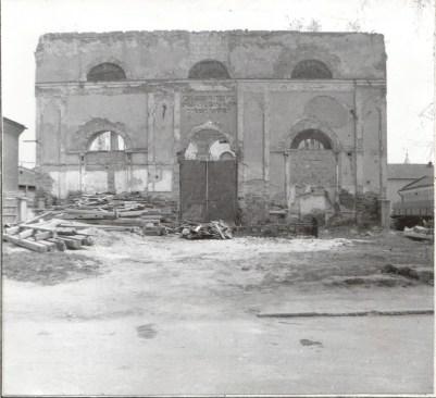 Стрийська синагога після Другої світової війни
