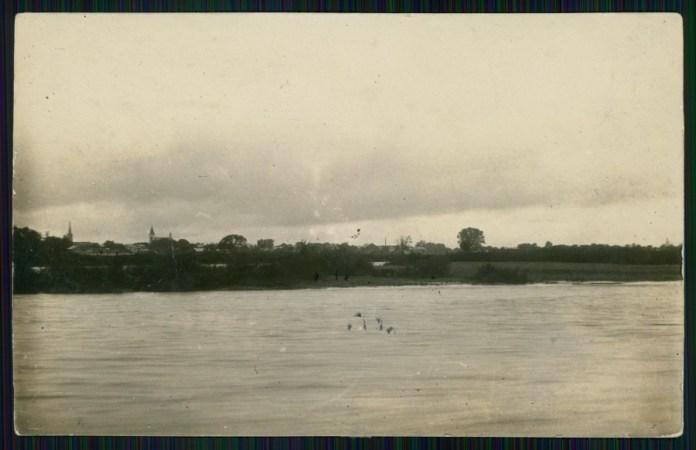 Ріка Стрий, на котрій і постало однойменне місто. Фото 1926 року