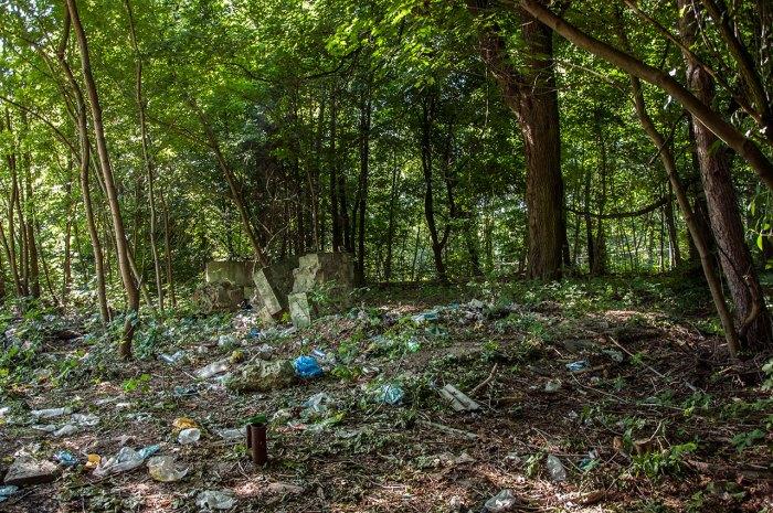 Місце, де розташовувалось Стрийське кладовище, фото М. Ляхович