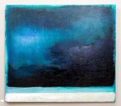 Експозиція виставки Соломії Ковтун «Лінія горизонту»
