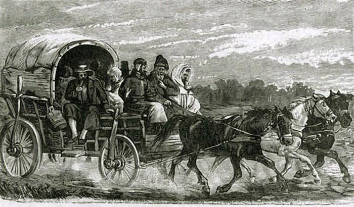 Єврейська фура, 1897 р.
