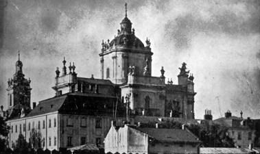Олександер Мох. Церква св. Юра у Львові, сер. 1930-х рр. (Світло й Тінь. – 1937. – Ч. 12)