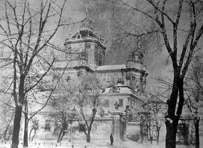 Олександер Мох. Св. Юр в зимі, сер. 1930-х рр. (Світло й Тінь. – 1936. – Ч. 2)