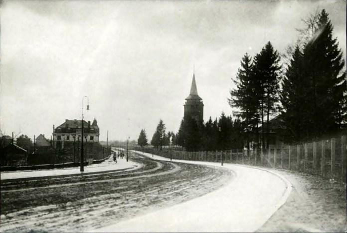 Нинішня вулиця Івана Франка на початку ХХ століття