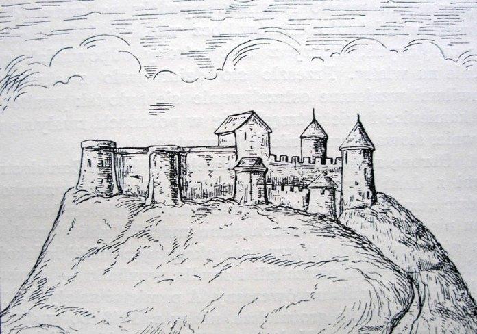 Високий замок у Львові кінця ХVІІ ст.