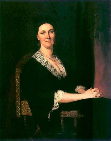 Портрет Альфонсини Дідушицької (1876)