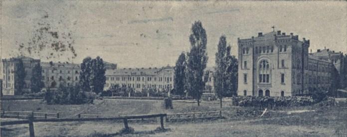 Палац для сиріт в Закладі. Фото 1913 року